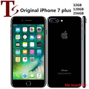 Refurbished Original Apple iPhone 7 Plus 5.5 inch No Fingerprint iOS A10 Quad Core 3GB RAM 32 128 256GB ROM 12MP Unlocked 4G LTE Phone
