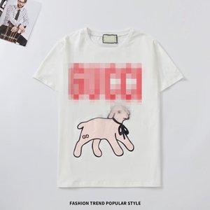 Mens Women Designer T Shirts Fashion Luxury guci guc T Shirt Summer Mens Tshirt Tee Tops Couples Matching Clothes 11