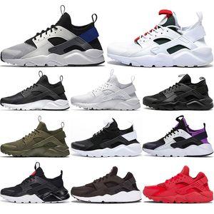 С бесплатных носками 2020 White Dot ACE Huarache 4,0 IV 1,0 кроссовки Классической тройной черными мужчинами, женщины Huaraches спортивных кроссовок