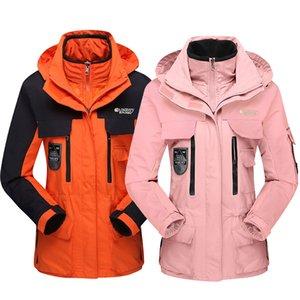 2020 Nueva invierno esquí de las mujeres chaquetas al aire libre a prueba de viento impermeable térmica esquí snowboard chaquetas yendo de excursión subir Mujer Nieve Jack