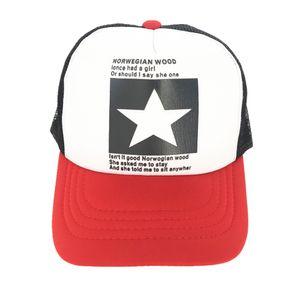 Designer Cap zackigen Stern Marke Baseballmütze im Freien Baseball-Mütze Breath MenWomen Sommer Mesh Cap Baseball-Caps