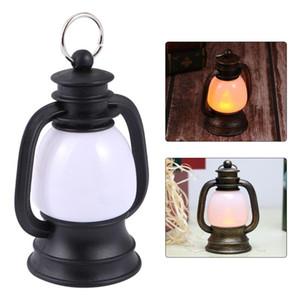 Tenda Lampada LED Retro Piccola Cherosene Notte Vintage Cavallo lanterna Mini Pony lampada luce di emergenza per il Natale viaggio Camping