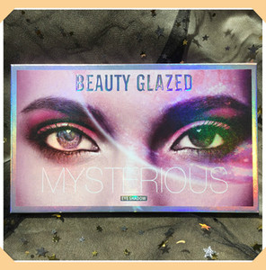2019 Newest Beauty Glazed Mysterious Eyeshadows palettes 18 Color Eye shadow Palette Shimmer Matte Eye shadow Palette DHL
