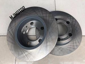 (2pcs lot) Rear brake discs for Chinese Brilliance FSV Cross FRV H330 V5 Auto car motor parts 3496009 vmX7#