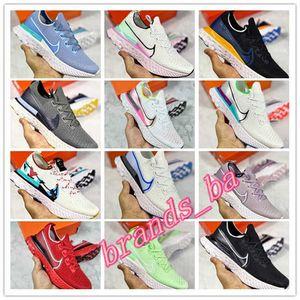 Nike React Infinity Run Flyknit Men women ultra-light shoes Nike React Zoom Vaporfly 4% CD4371-004 unisex knitting casual Comfortable cushioning running designer shoes CD4371-108