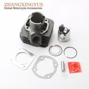 50cc Zylindersatz Piston Kit Zylinderkopfdichtung für TACT50 TACT 50cc 2stroke tZy6 #