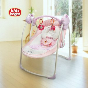 электрический ребенок качели стул музыкальный ребенок Бесплатная доставка вышибала качели качели новорожденным автоматический перекидной малый размер j0AL #