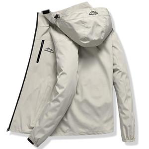 Vestes Outdoor coupe-vent imperméable respirante capuche Manteaux Hommes Sports de montagne Softshell Polaire pluie Randonnée Veste