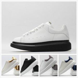 McQueen Shoes 2020scarpe da uomo chaussures femmes lusso formateurs chaussures de sport de la plate-forme chaussures de sport pour hommes de scarpe d'or MQ haut Tos