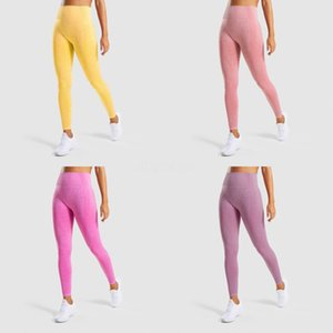 Seamless Yoga Pants Women Running Sport Leggings Gym Clothing Fitness Training Tights Femme Push Up Leggins Sportswear Trousers#393
