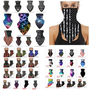 Moda Viso Bandana Ear Loop elegante donne degli uomini Scaldacollo per la polvere del vento del partito Moto Mask HH9-3141