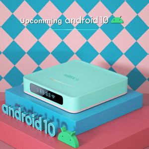 A95X R5 luz RGB androide 10.0 de TV CAJA RK3318 Quad Core 2 GB 16 GB 4K DUAL WIFI TV Box de Smart TV A95XR5