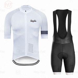 Fahrradbekleidung 2020 Raphaful Pro Team Ropa Ciclismo Hombre Sommer Kurzarm Fahrrad Set Mtb Fahrrad Uniforme Zale #