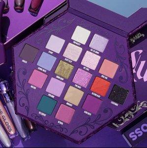 Новые 18colors J Star Жажда крови Eyeshadow Shimmer и матовая Puple палитра теней Косметическая палитра Артистизму