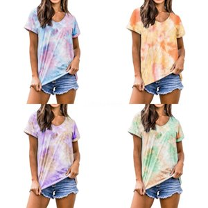 Tops &Amp; Tees T-Shirts LVINMW Fashion Knitted Chinese Style Print Skinny Crop Top 2020 Summer Women O Neck Short Sleeve Slim T#227