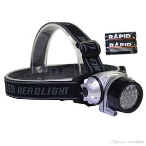 1W 9 12 14 16 18 19 21 23 LED Headlamps Headlight Flashlight Torch Lamp 4 Models Head Fishing Light