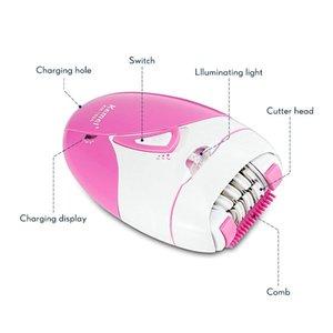 2016 Kemei 189A elettrico Epilator dei capelli Womans Usb neutralizzazione indolore bikini corpo Powered comecase Shaver macchina per Trimmer Depilazione