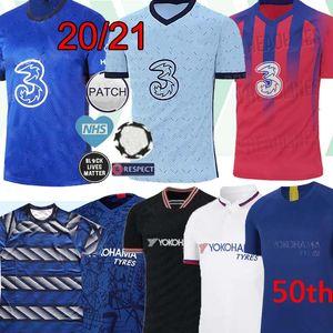 20 21 WERNER PULISIC كانتي جيرسي ABRAHAM MOUNT ZIYECH 2019 2020 2021 Camiseta دي مجموعات كرة القدم قميص الوطن بعيدا 3RD كرة القدم بالقميص MEN KIDS