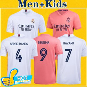 Camiseta Real Madrid Maillots 2021 Soccer Jersey madrid RISQUE SERGIO RAMOS BENZEMA maillot de pied camiseta de fútbol 20 21 Maillot de football