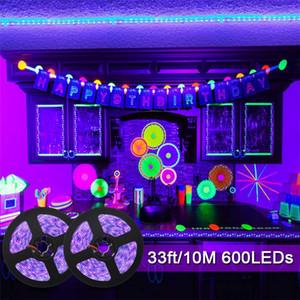 UV luce di striscia 12V UV luci di striscia 1 metro 60 LED, 395nm-400nm per il partito, Collezione, Palcoscenico, Night Fishing
