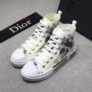 Top Quality 19ss New Designers luxurys sapatos casuais mens Men Lace Up D Moda alta Ajuda Sneakers TAMANHO 38-44