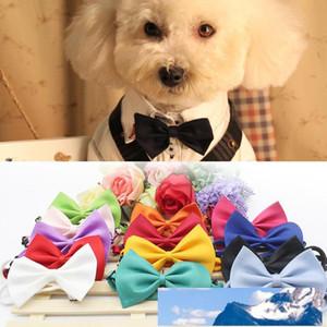 Moda cão animal de estimação gravata borboleta ajustável gravata gravata gato bonito gato cão laço decoração de natal fonte de estimação acessório de cão atacado VT0398