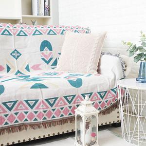 Gestrickte Sofa-Decke-Kind-Kind Lehnstuhl Divan Decke Plaid Strandbade Wraps Wohntextil