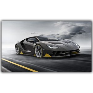 Fashion Sports Car Modern Art Super Car Poster Wall Art Pictures Painting Wall Art for Living Room Home Decor (No Frame)