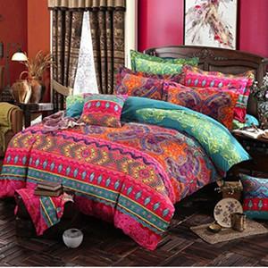 Designer Bed Couettes Sets Bohemian 3d Literie Mandala couette hiver Bedsheet Taie Reine King Size Couvre-lit Linge de lit