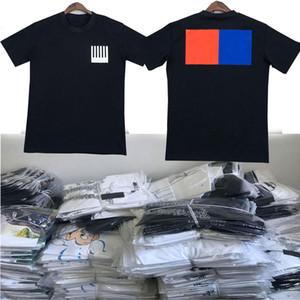 20SS итальянские мужские футболки Bermuda европейского хип-хоп печати с короткими рукавами футболки летом новый раунд шеи вышивка хлопок мужские рубашки Factor