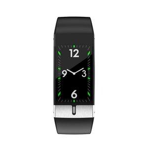 2020 Smart Watch Männer E66 Smart-Armband-Körper-Temperatur ECG PPG Wasserdichte Sport Armband Smartwatch für iOS Android