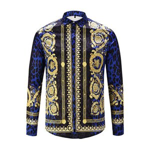 holesale- Men Shirts Social 2020 Spring Formal Non Iron Dress Shirt Solid Long Sleeve Business Fashion Mens Shirts With Button X020