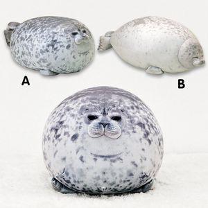 3D Novelty Throw Pillows Soft Sea Lion Plush Toys Sea World Animal Seal Plush Stuffed Baby Sleeping Pillow Kids Gifts MX200716