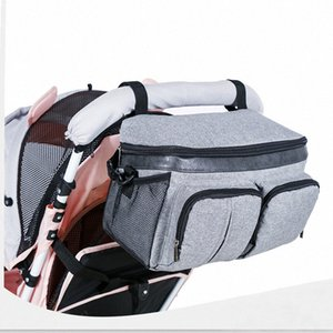Baby Stroller Stuff Diaper Bags By Organizer Baby Bag Mom Travel Backpack Hanging Carriage Pram By Cart Bottle Bag EZXA#