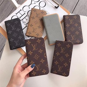For iPhone 11 11pro Max Case Wallet Designer Phone Case For iPhone Xr Xs 7 8 Plus Leather Purse Phone Cases