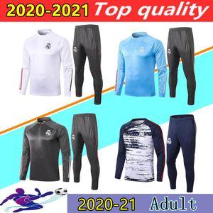 20/21 Реал обучение футбол пиджак дель Chandal 2020 2021 ОПАСНОСТИ Бензема Модрич Camiseta де Futbol Беговая футбол костюм