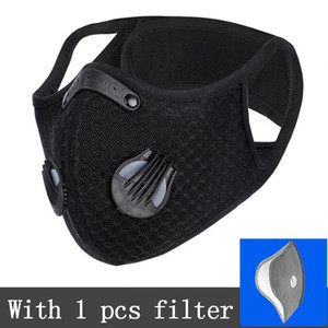 Cycling Mask Dust-proof Haze-proof Breathable Sun Protective Mask Men And Women Outdoor Sports Supplies With Filter EEA1807