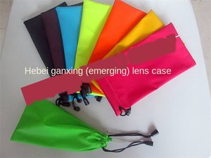 Dust-proof cloth Glasses cloth shaver mobile phone waterproof sunglasses jewelry mobile phone bag razor bag candy color