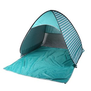 Outdoor 2 Person Beach Camping Hiking And Camping Camping & Hiking Tent AntiUv Portable Quick Sunshade Shelter Canopy Stripe Automatic z3zF#
