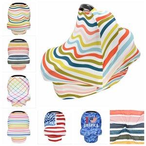 Enfermagem Capa Amamentação Scarf Canopy bebê Car Seat Covers infantil Stroller Tampa Carseat Canopy para recém-nascido meninas e meninos YYA353