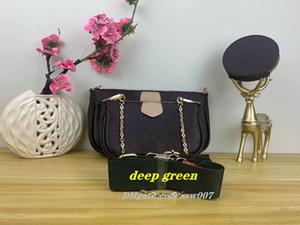 M44823 3 pièces / set sacs de créateurs LV LOUIS VUITTON  multi-accessoires de favoris L vieille pochette dames de style modèle de fleur sacs à main sac bandoulière épaule