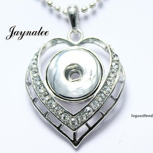 HOT sale ginger push button jewelry 18   20mm snaps Necklace pendant jewelry fit snaps buttons jayna snap GS1203034