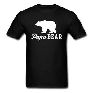 Papa Ours Profil caractère noir T-shirts Kanye West Rock Musique Chanteur T-shirts Californie Ours Tops T-shirt surdimensionné Homme