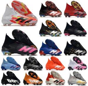 Sapatos 2020 Hot Predator modificador 20 + FG Uniforia pacote PP Paul Pogba Homens Meninos Deslizamento-no Soccer Football 20 + x Grampos botas de tamanho 39-45