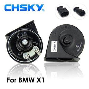 Tipo CHSKY cuerno de coche del caracol cuerno Para X1 E84 F48 12V sonoridad 110-129db Auto Klaxon