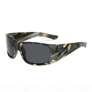Glitztxunk Men Sunglasses Polarized Night Vision Vintage Camouflage Brand Designer Sports Sun Glasses For Male Black Goggles
