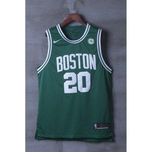 Shirt Gordon Hayward Seltik Black Green Thermal Transfer Cheap stitched Basketball jerseys