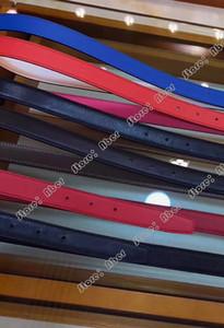 Aber NewTop 품질 가죽 벨트 여성 디자이너 벨트 정품 가죽 H-버튼을 편지 버클 벨트를 부드럽게 두 개의 서로 다른 색상을 양면