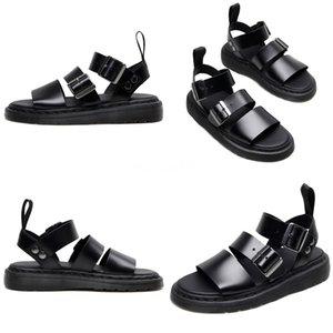 De alta calidad al por mayor nueva llegada Fashionsandals verano zapatos de cuero al aire libre genuina Walk zapatos de hombre de la sandalia 0579 # 966