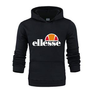 ELLESSE Пуловеры верхнего качества вскользь Mens 2020 Роскошная Новая осень зима толстый теплый кашемировый свитер Мужчины водолазку Мужские